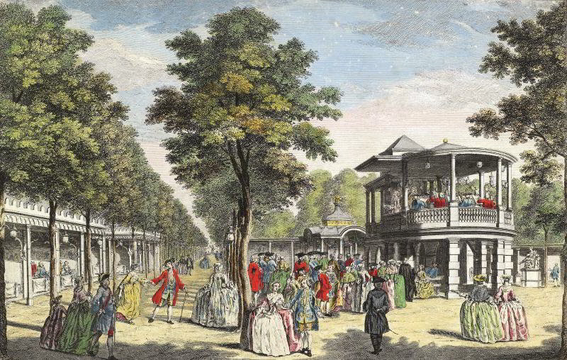 The former Vauxhall Pleasure Gardens.