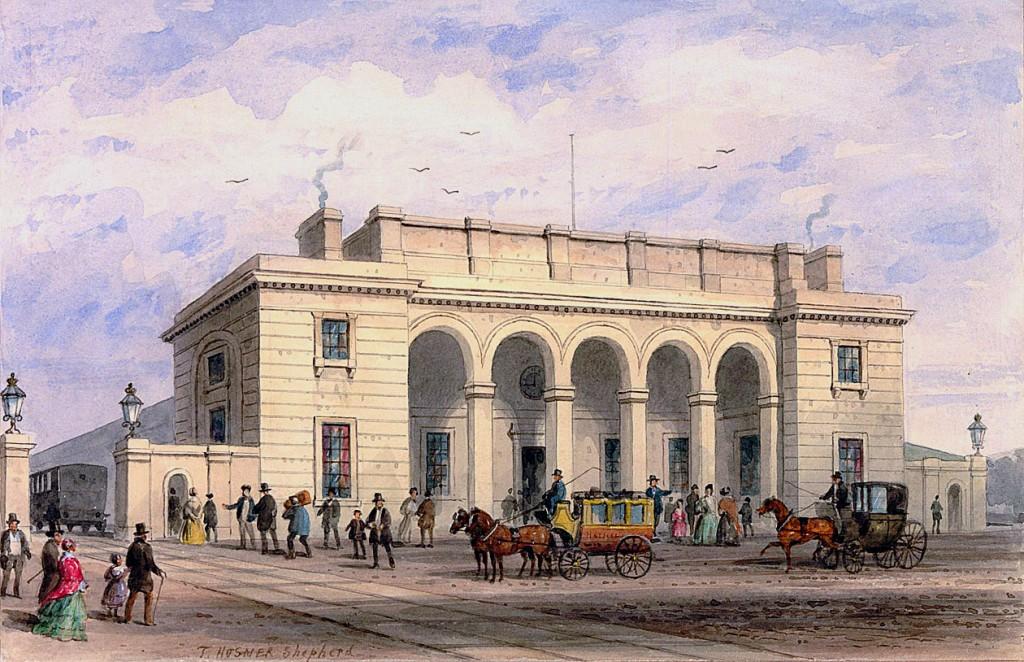 Sir William Tite's Nine Elms Station.